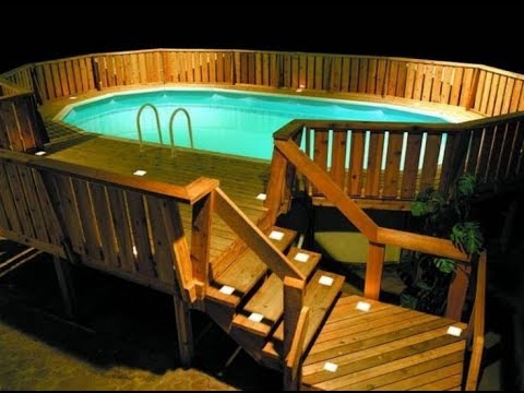 pool decks for above ground pools