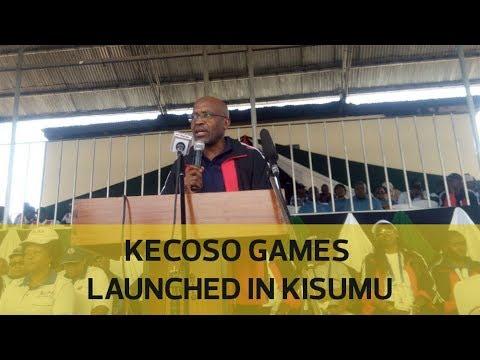 KECOSO games launched in Kisumu