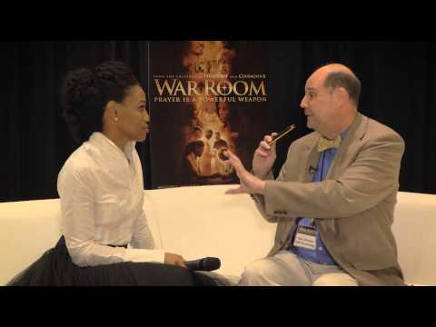 War Room Atlanta Red Carpet - Priscilla Shirer (Elizabeth) | The Meeting House on Faith Radio