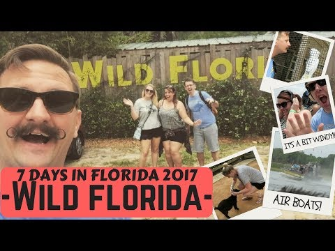 Seven Days in Florida | Wild Florida & Airboats | Florida Vacation | May 2017 Vlog | Krispysmore