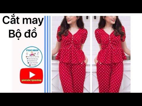 Dạy Cắt May Bộ Đồ Mặc Nhà _803_tysushop|sewing diy clothes