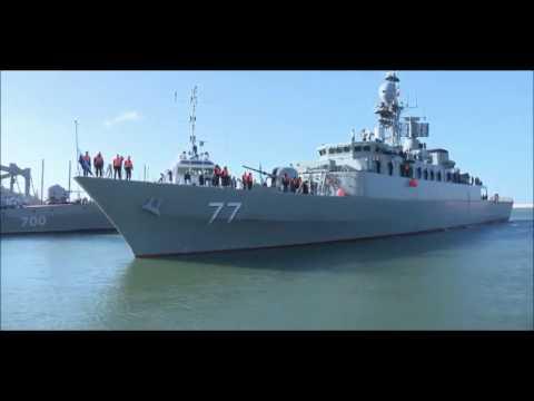 Iran Nany Damavand & Derafsh Vessels mooring in Russia Makhachkala port