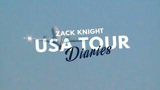 Zack Knight USA Tour Diaries