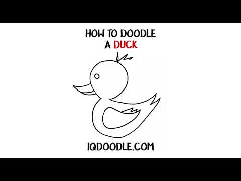 How to Draw a Duck (drawing tips)