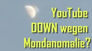 Es hat den Mond getroffen! 😱 YouTube Down Debunked