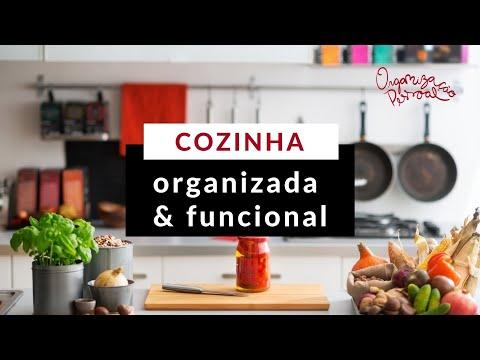 Como organizar a cozinha?