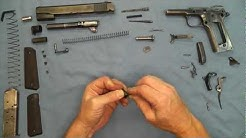 1911 Pistol No Tools Detail Strip Assembly