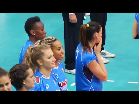 LIVE 2017 CEV Volleyball European Championship   Women UKRAINE  ITALY pool A