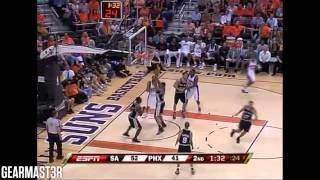Tony Parker - 41 pts, 12 asts vs Suns Full Highlights (2008 WC1R GM3) (2008.04.25)