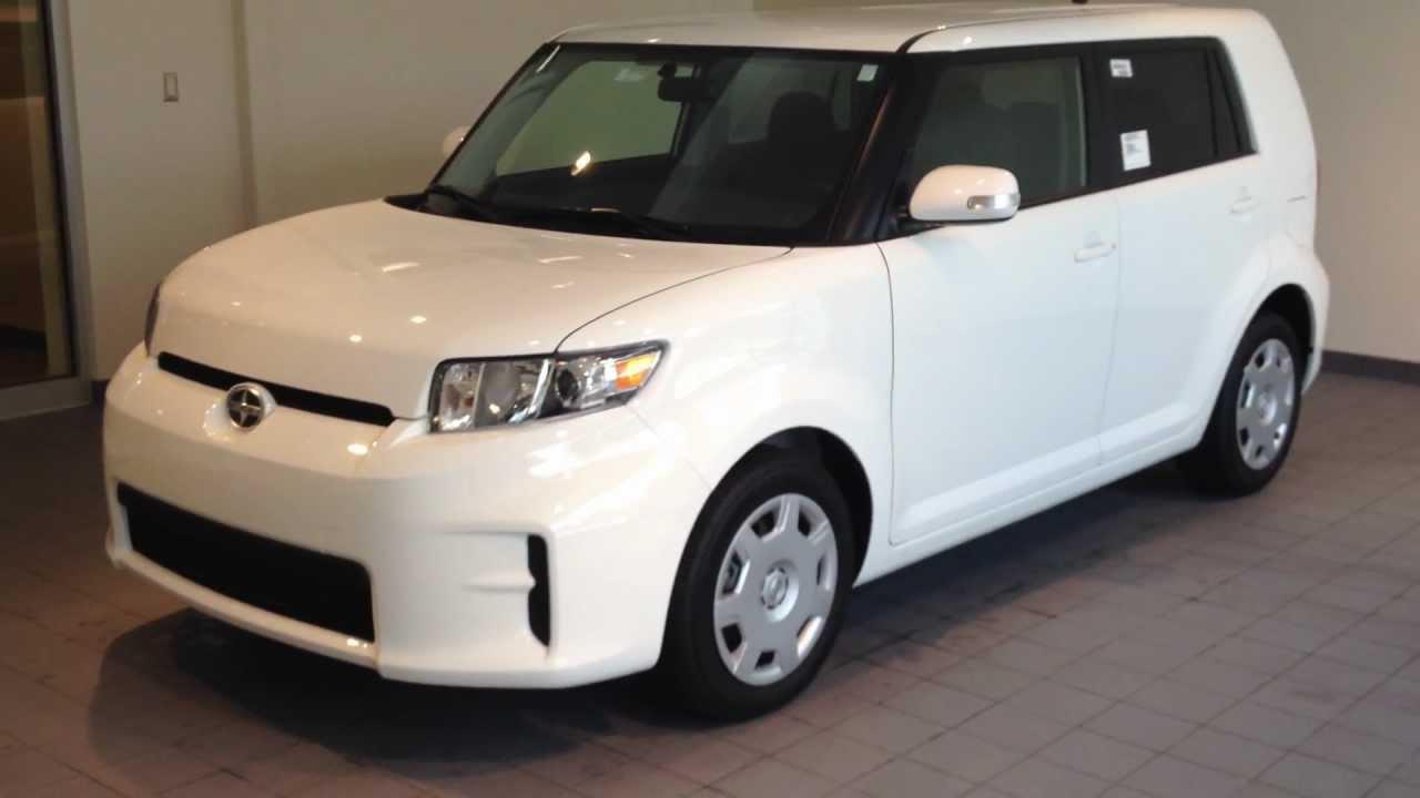 Toyota toyota cube : 2012 Scion XB Super White Automatic #77712 - YouTube