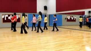 Tears On A Highway - Line Dance (Dance & Teach in English & 中文)