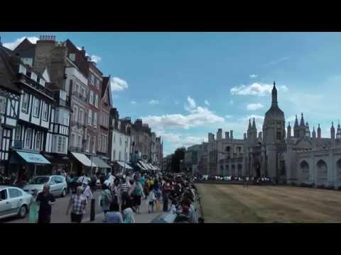 Cambridge UK, Trumpington Street to Market Hill