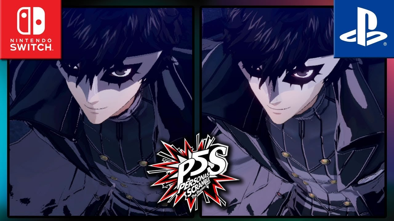 Persona 5 Scramble: The Phantom Strikers | Switch VS PS4 Frame Rate TEST