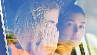 Justin Bieber Caught SOBBING In Hailey Baldwin's Car Over Selena Gomez!