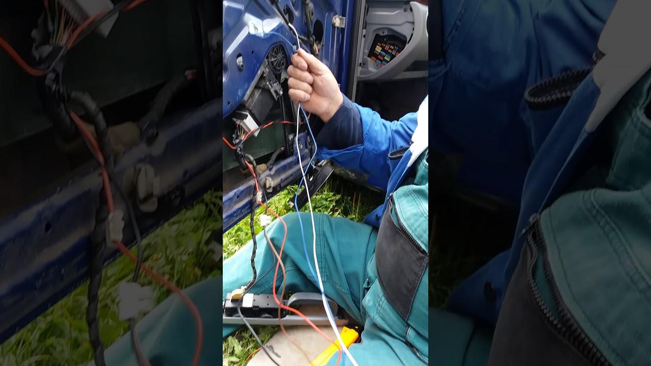 Zapojeni Dalkoveho Centralu Na Octavia 1 Youtube