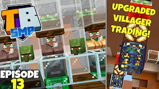 Truly Bedrock S2 Ep13! Upgraded Villager Trading & New Skin! Bedrock Edition Survival Let's Play!
