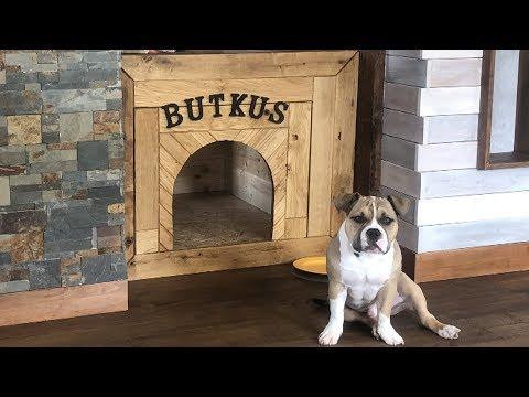 Diy doghouse Hundehütte