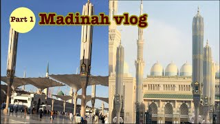 Vlog #1 madinah vlog || From Riyadh to madinah || Most peaceful place in the world || Part -1
