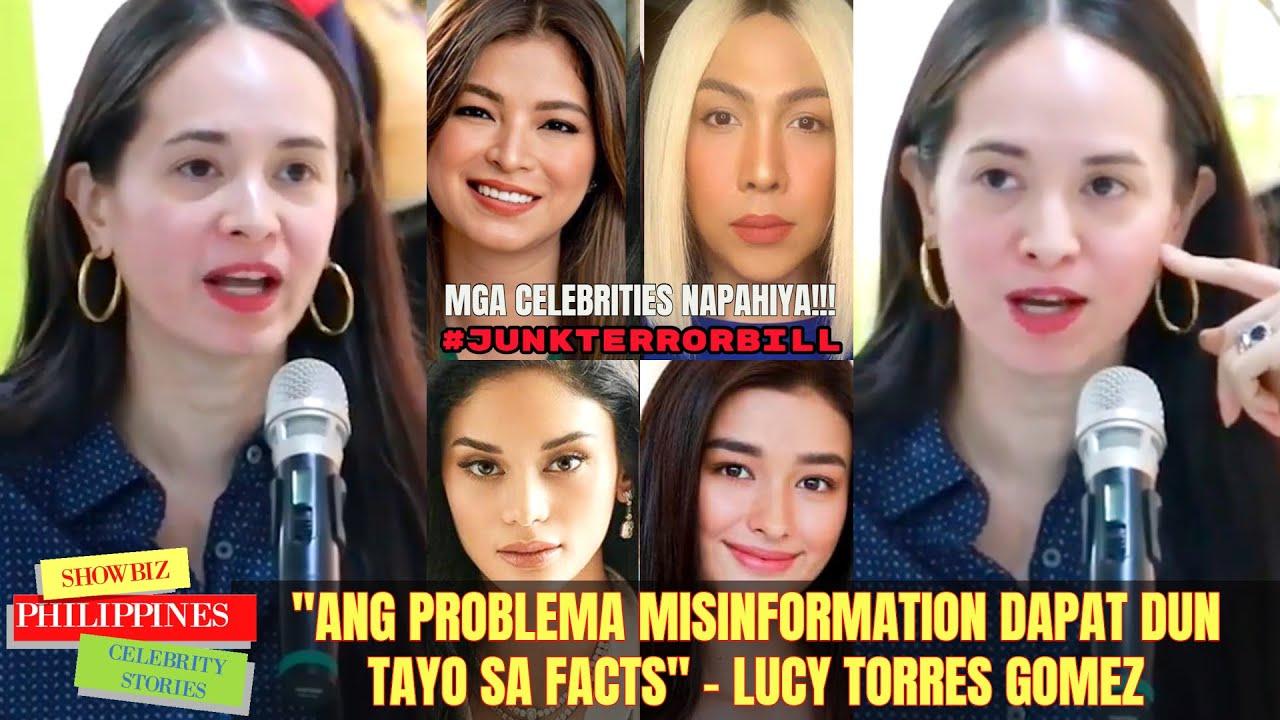 Mga Celebrities NAPAHIYA sa MGA SINABI ni Lucy Torres Gomez ukol sa Anti Terror Bill