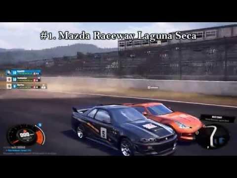 The Crew (Beta #2): Race Tracks