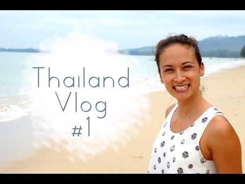 Follow me around - Vlog 1 Thailand - Bangkok - Cheat Day - Crazy Taxi Driver - Holiday Inn