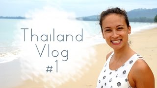 Follow me around - Vlog 1 Thailand - Bangkok - Cheat Day - Crazy Taxi Driver - Holiday Inn