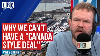 "James O'Brien explains why the UK can't have a ""Canada-style Brexit deal"" 