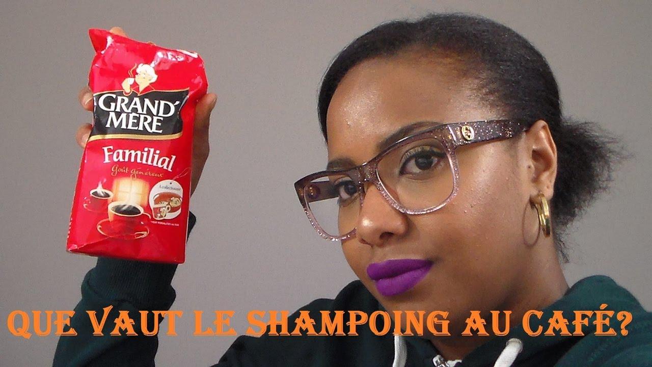 Bien-aimé Shampoing Au Café Fait Maison - YouTube VQ15