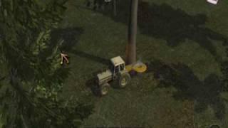 Woodcutter Simulator / Holzfäller Simulator - gameplay