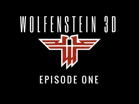 Gaming With Twinn! Let's Play Wolfenstein 3D Ep. 1 Escape from Wolfenstein (Floors 1, 2, 3)