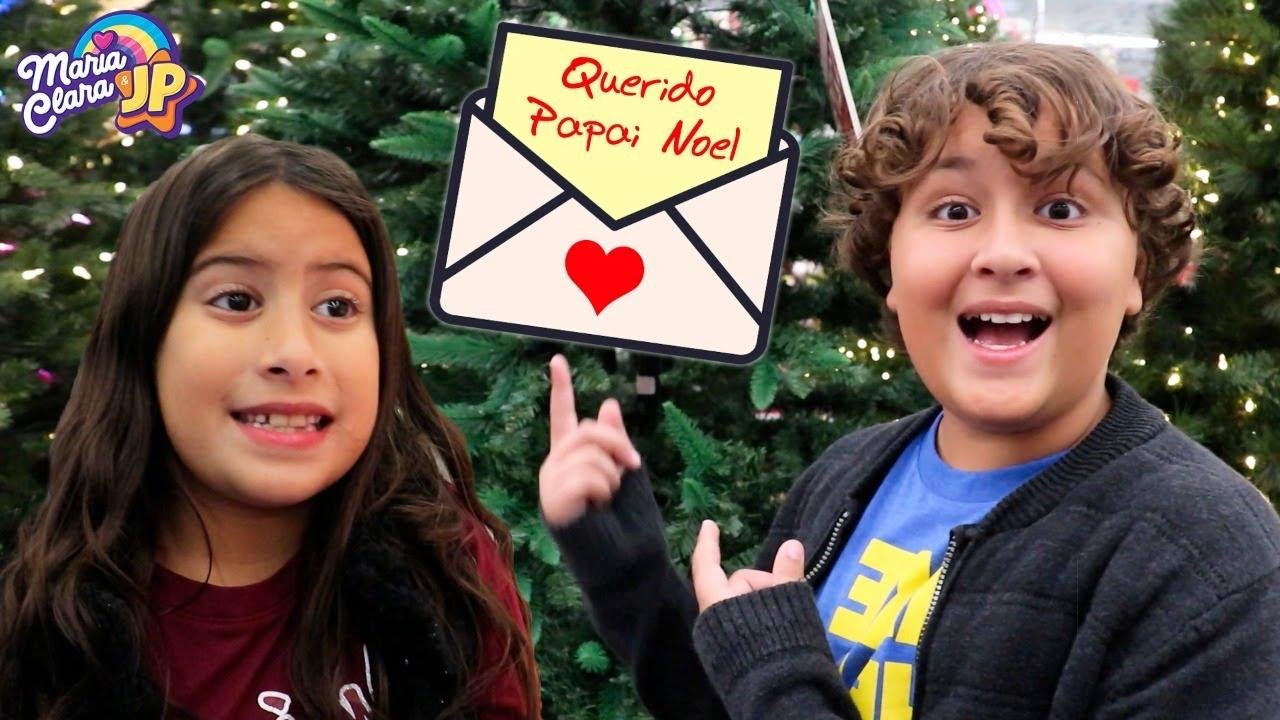 Maria Clara e JP escrevem para o Papai Noel e montam a Árvore de Natal