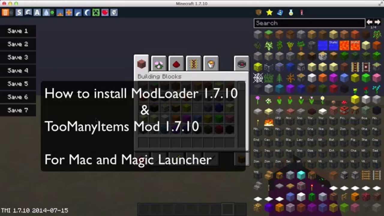 how to create a minecraft mod mac