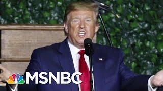 A New President Donald Trump Teleprompter Phenomenon | All In | MSNBC
