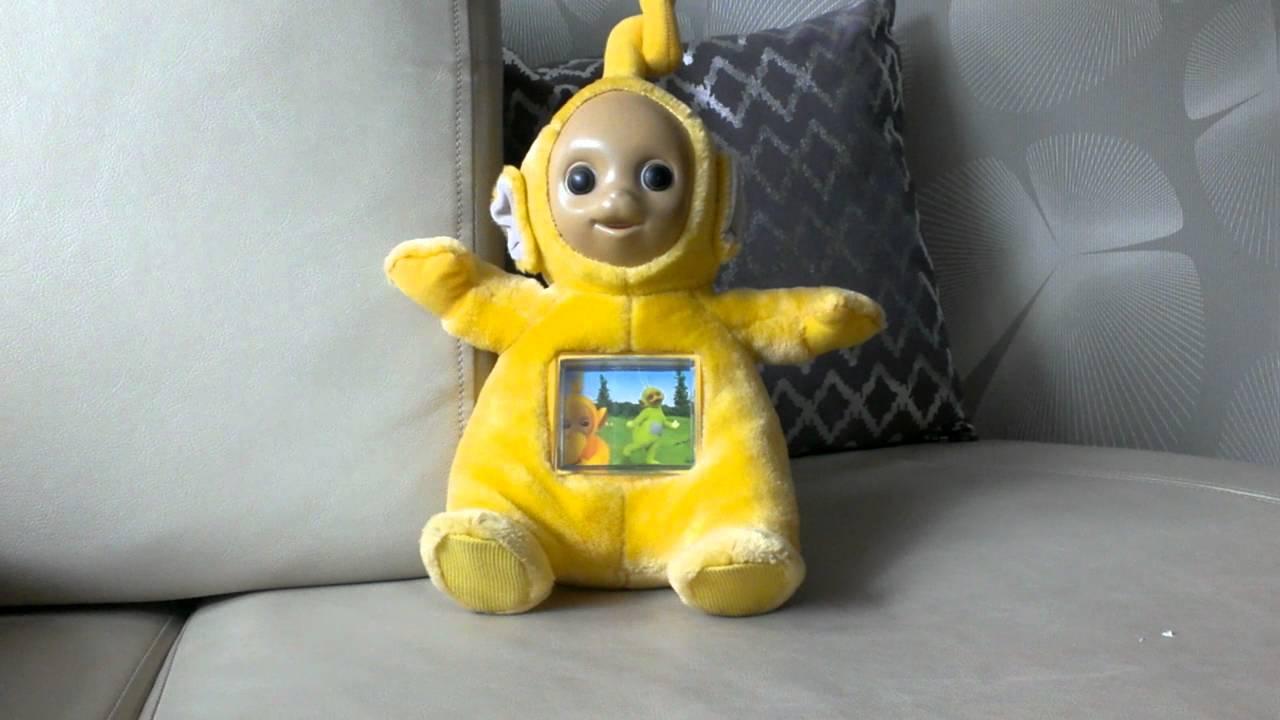 Laa Laa: Teletubbies, Laa-laa, Singing Toy. Teletubis Zolty,zabawka