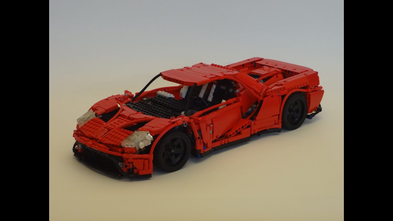 rc lego technic 2017 ford gt. Black Bedroom Furniture Sets. Home Design Ideas