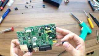 первый опыт в ремонте бытовой техники, цифровая TV приставка. Good Master