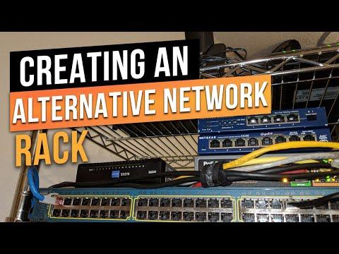 Temporary Network Server Rack