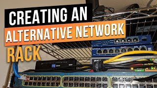 Temporary Network Server Rack