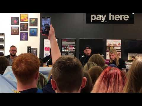 As It Is - The Fire, The Dark (Live Acoustic Version) at HMV, Manchester Arndale Mp3