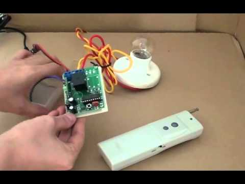 12v wiring diagram flat four 1-channel long distance wireless remote control switch operation - youtube