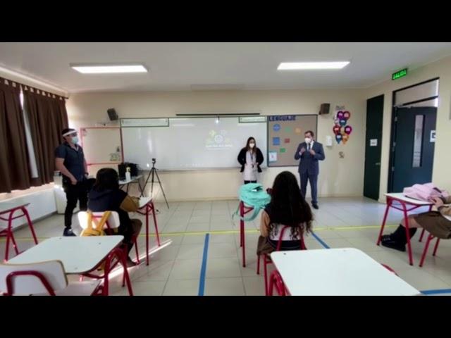 Primer día de Clases en Pumahue Chicauma