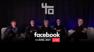 Indochine - Replay Facebook Live (13 avril 2021)