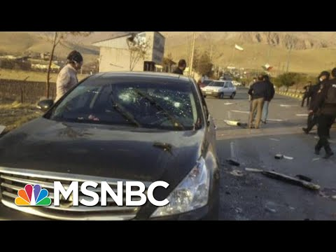 Top Iranian Nuclear Scientist Mohsen Fakhrizadeh Assassinated | Hallie Jackson | MSNBC