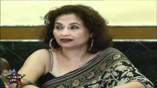Press Cnfrence Salma Aaga Daughter Zarah Khan MMS   06