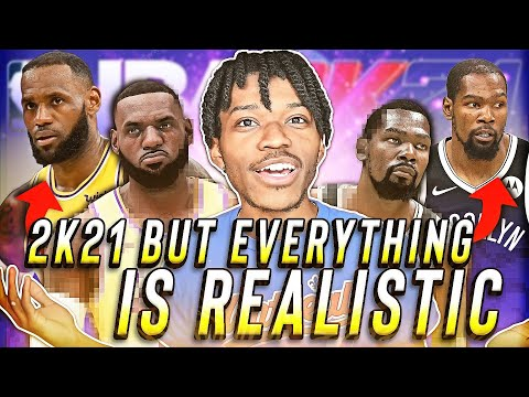 NBA 2K21, But It's The Most Realistic Possible