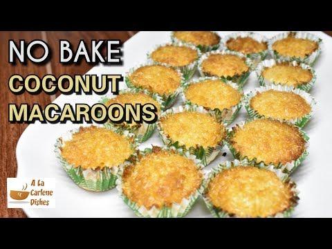 no-bake-coconut-macaroons