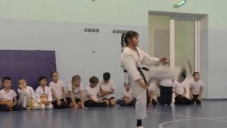 Аттестация воспитанников академии боевых искусств Хваран