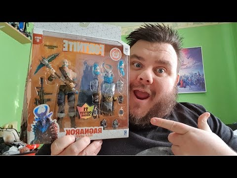 Fortnite Ragnarok Max Level Legendary Series Jazwares 6 Inch Action Figure Gaming Toy Review