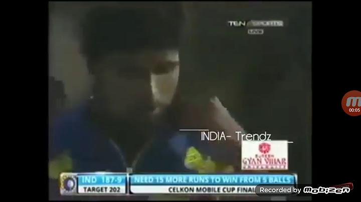 india need 16 runs in just 3 balls  ms dhoni finish
