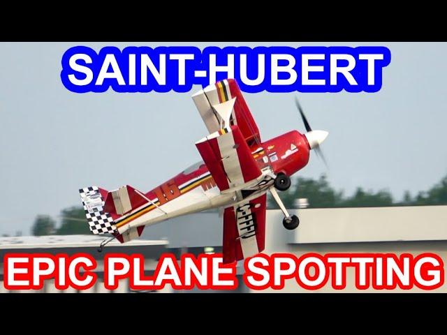 Montreal's THIRD airport: Spotting at Saint-Hubert (YHU)